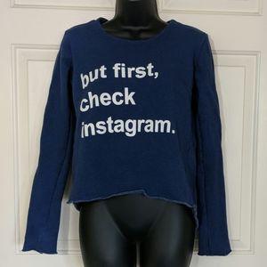 💸Malibu Sugar Instagram Sweatshirt